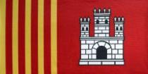 La bandera de Terrassa. Autor: Rafel Casanova i Maresma