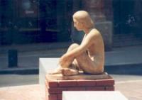 Escultura anomenada Repòs. Autor: Genair Indurain