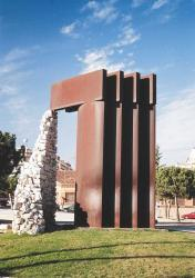 Monument Camins. Autor: Frank Gómez