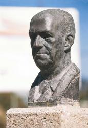 Escultura d'Antoni Escudé. Autor: Frank Gómez