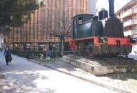 Màquina del tren. Autor: Rosi Romero