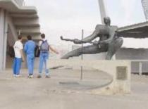 Escultura Hoquei. Autor: Josep Palau