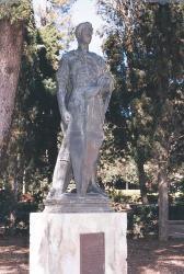 Escultura de Sant Jordi. Autor: Rosi Romero