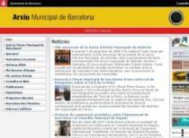 Accés a la web de l'Arxiu Municipal de Barcelona.